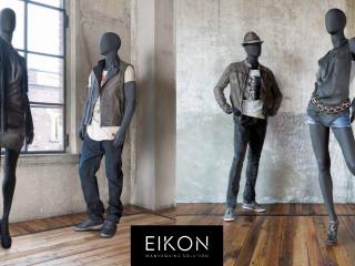 Manichini astratti collezione VJ Eikon